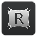 RocketDock Grey-128