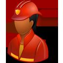 Firefighter Female Dark-128