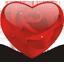 Rosy heart-64