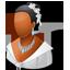 Wedding Bride Dark icon