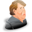 Angela Merkel icon