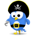Twitter pirate-128