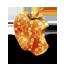 Mac orange flowers icon