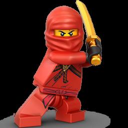Lego Ninja Red