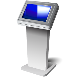Touch Screen Kiosk Icon Download Office Space Icons