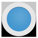 Light Blue Circle-128