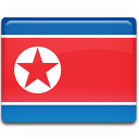 North Korea Flag-128