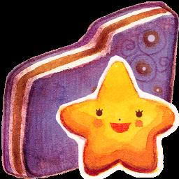 Starry Violet Folder