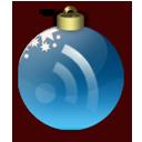 Feed Christmas Blue