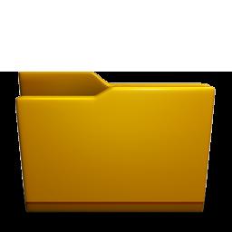 Folder yellow