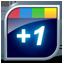 Google Plus One Button-64