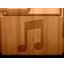 Music matte icon