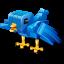 Twitter robot bird Icon