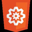 HTML5 logos Performance-128