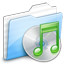 Music Green icon