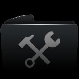 Folder black utilities