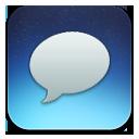 Messages Blue