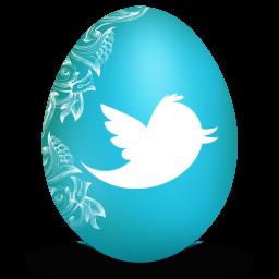 Twitter White Egg