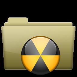Folder Burn Brown