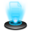 Notepad Hologram icon