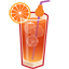 Sex on the Beach cocktail icon