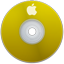 Apple Yellow Icon