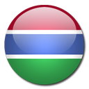 Gambia Flag-128