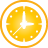 Clock yellow Icon
