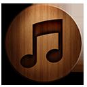 iTunes 10 Wooden-128