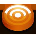 Rss orange circle-128