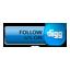 Follow Digg blue-64