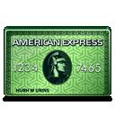 American Express Green-128
