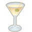 Vodka Martini cocktail Icon
