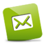 Mail green Icon