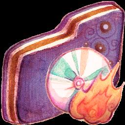 Burn Violet Folder