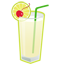 Gin Fizz cocktail icon