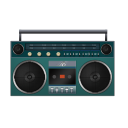 Boombox Turquoise-128