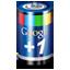 Google Plus One Battery icon