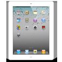 iPad 2 Scratch White-128