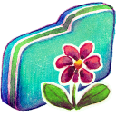Flower Green Folder-128