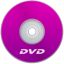 DVD Purple icon