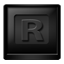 Black RocketDock icon