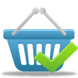 Shopping basket accept