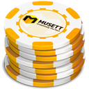 Yellow Casino Chips-128