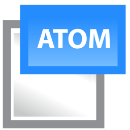 Atom Icon Download Bloggers Vol 1 7 Icons Iconspedia