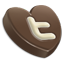 Twitter heart-64