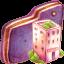 Office Violet Folder icon