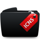Folder black icns-128