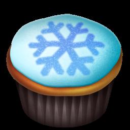 Cupcakes snowflake