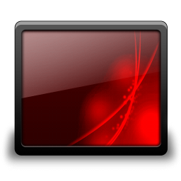 Desktop black red
